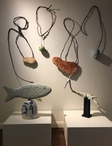 Fish, Bird, Fishing Hooks